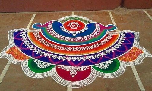 rangoli for diwali – 4