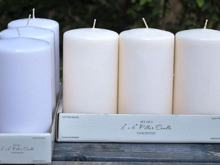 6 Inch Pillar Candles Bulk In 2020 Pillar Candles Pillar Candles Bulk Wholesale Candles