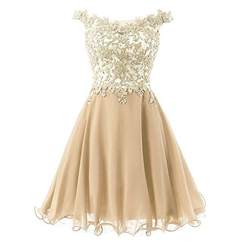FNKS Women's Straps Lace Bodice Short Prom Gown Homecoming Party Dress Champagne US 10 FNKS http://www.amazon.com/dp/B011NEF330/ref=cm_sw_r_pi_dp_MeZewb1B1E2ED