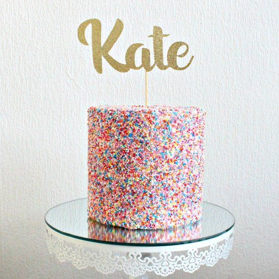 Personalised Holy Communion CROSS custom glitter cake topper//Any Name//Wording