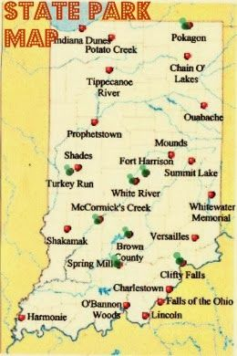 Mixed Mustards: State Parks in Indiana