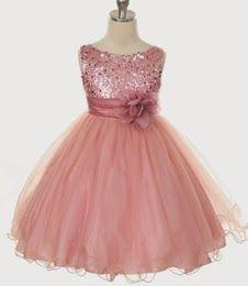 Vestido Niña de las Flores, Rosa.. para dorado ;)