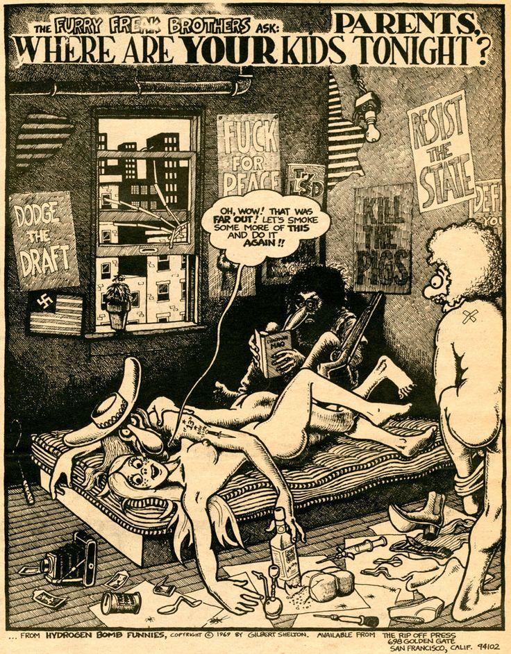 Freak Brothers http://highgatedreams.tumblr.com/post/19189327579/babylonfalling-jeff-shero-interviews-gilbert