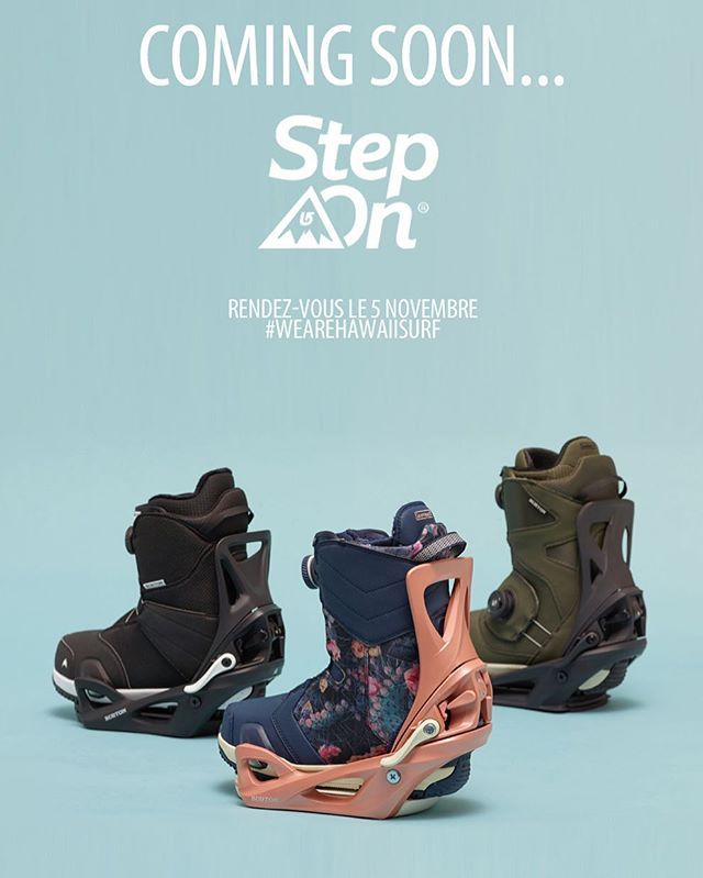 Coming Soon..... #burton #burtonsnowboards #stepon