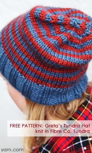 25 best quick knitting projects images on pinterest knitting this free pattern is a super quick hat knit in the fibre companys tundra dt1010fo