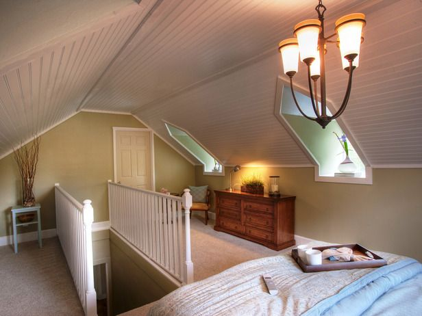 78+ Images About Attic Bedroom On Pinterest