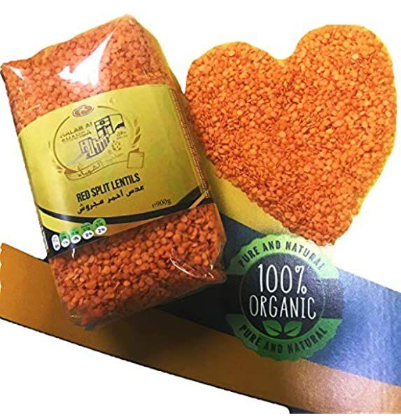 Ktc Red Lentils 5 Kg Amazon Co Uk Grocery Red Lentil Lentils Red Split Lentils