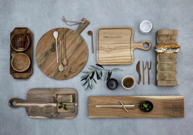 Des éléments en bois