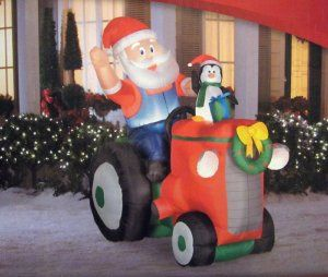 "Spruce up your outside with these Inflatable Christmas Decorations. You will also impress your neighbors and have people driving by your house ""oohing"" and ""ahing"" about your Christmas decorations."