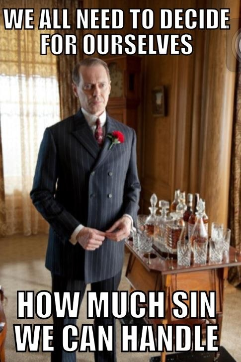 Boardwalk Empire. One of my favorite shows ever!
