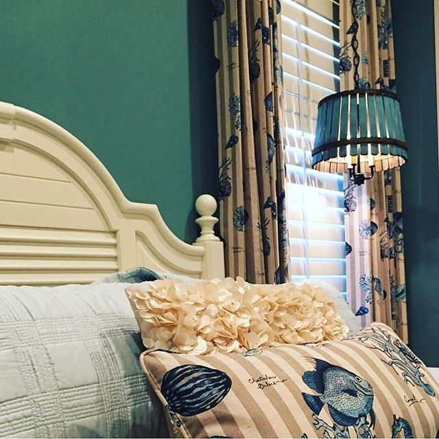 Mcdougallinteriors In Naples FL Did An Awesome Job With Walfabs Valorum Blue