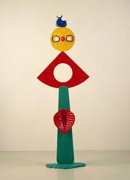 Нежность птица (La Caresse d'ООН Oiseau), 1967, Джоан Миро