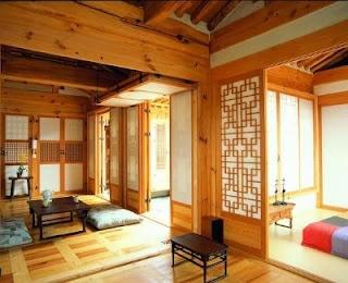 A modern Hanok in Bukchon. Beautiful.