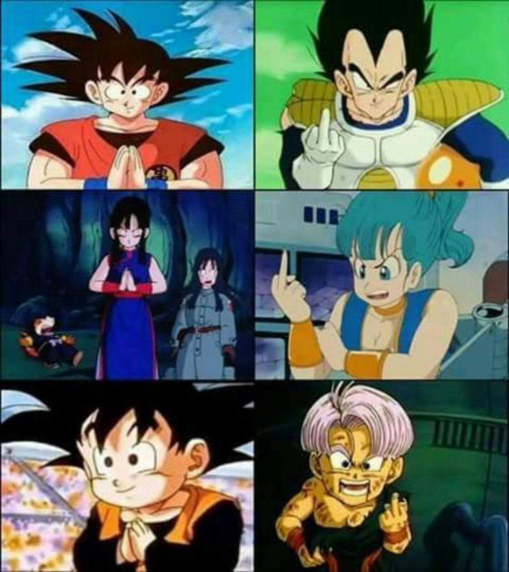 Goku and Vegeta's Families