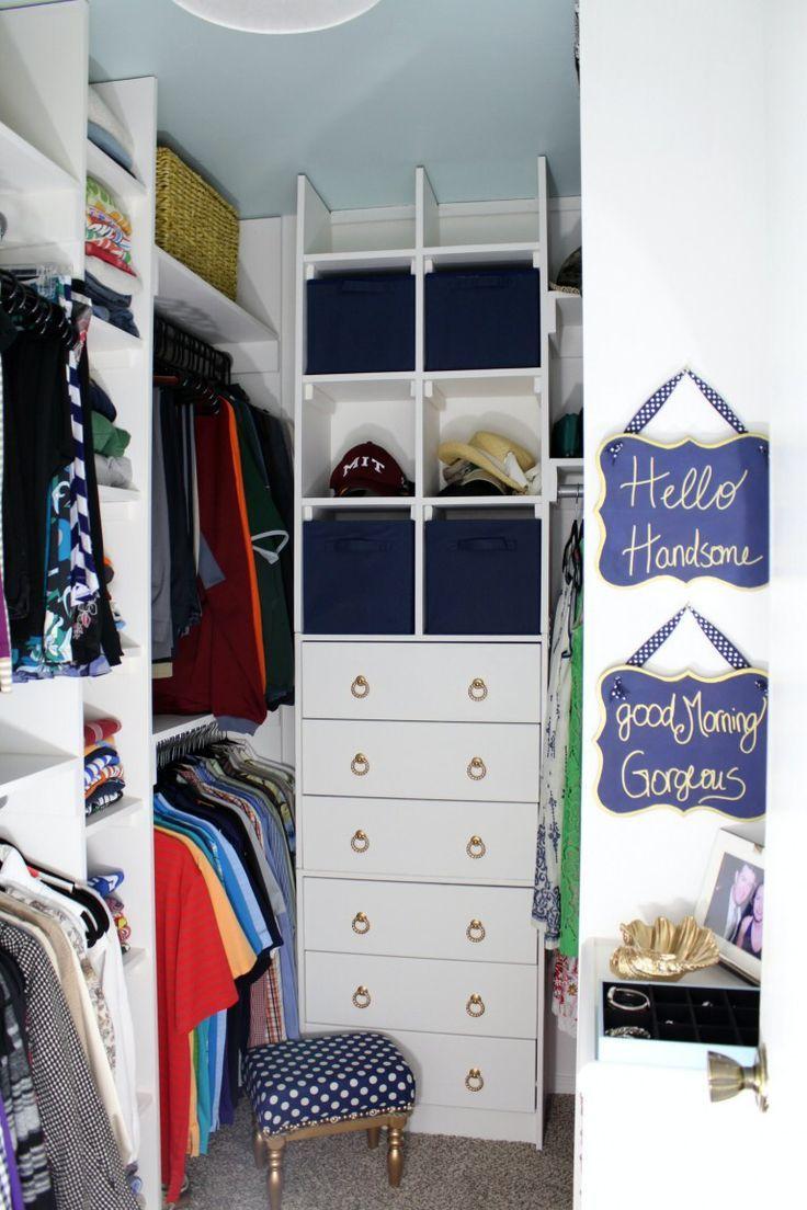 20 Unglaubliche Kleine Begehbare Kleiderschrank Ideen Makeovers Closet Small Bedroom Closet Layout Closet Makeover