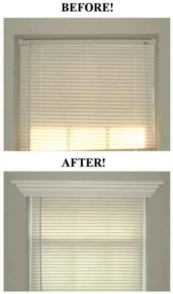 Habillez vos fenêtres avec des moulures.