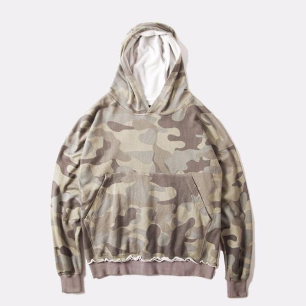Sovereign® Drop-Shoulder Camo Sweatshirt