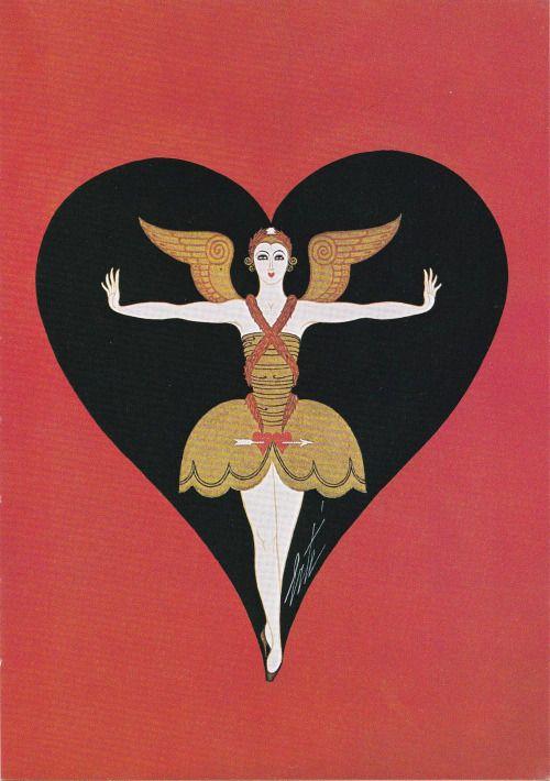 Erté, Angel costume 1926