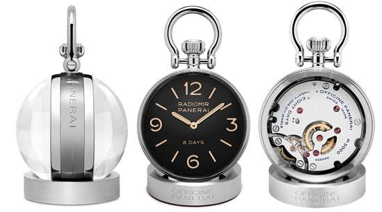 Officine Panerai Table Clock