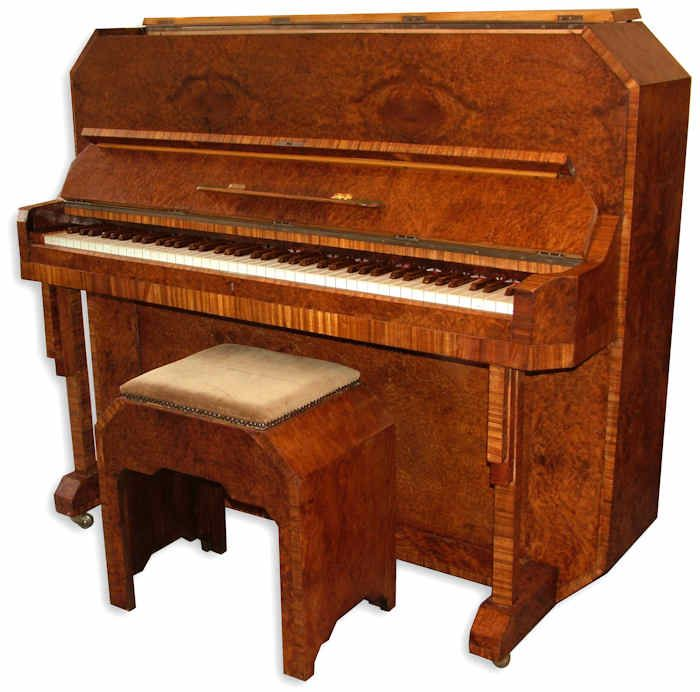 1000 images about art deco pianos on pinterest auction baby piano and piano stool. Black Bedroom Furniture Sets. Home Design Ideas
