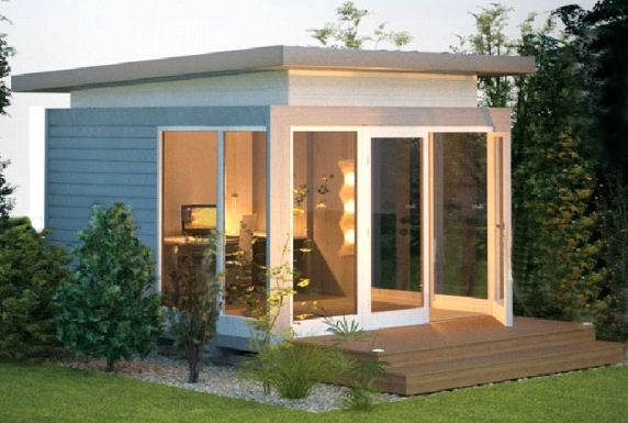 Granny Flats, Pool Houses, Garden Studios, Backyard Cabin/Studio Kits - Smart Studios