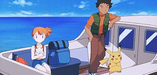 Misty:  *drops Togepi* Brocks: *ends up doing a spin* Pikachu: *DOES NOT COMPUTE*