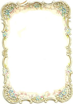 Ornate Vintage Frame ~ PJH Designs Hand Painted Antique Furniture: Free Graphics Wednesday #43