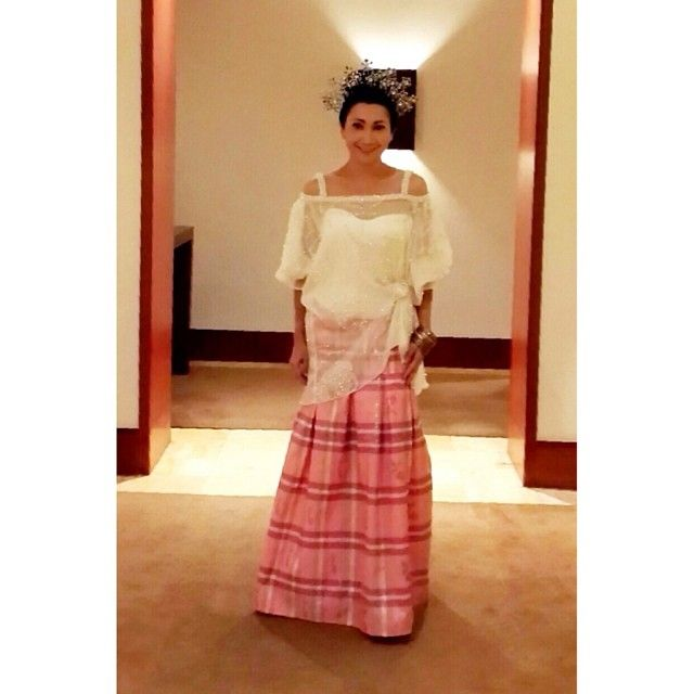 Thank you @Anna Ward Barends for trusting #IkatIndonesia by #DidietMaulana designing Baju Bodo - @ikat_ind- #webstagram