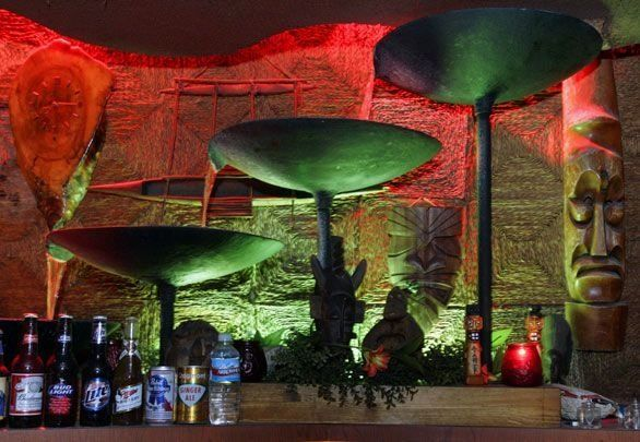 Oldest Tiki Bar in LA since 1958 - The fountains are working again!!! Kitsch!  You need to check this place out!!!