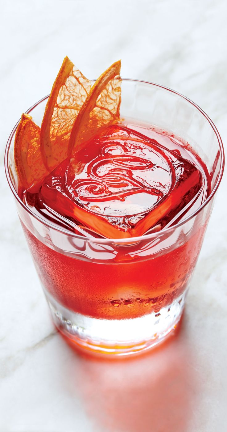A classic Negroni gets equal parts gin, vermouth, and Campari, but we tweaked the ratio (and made it better).