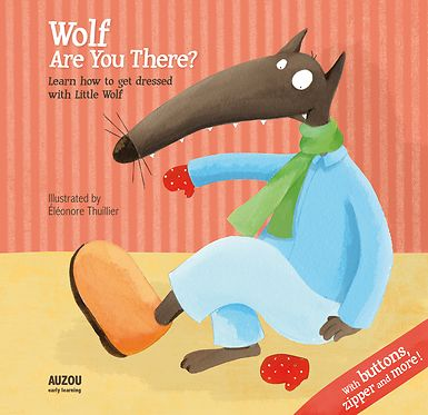 "Children will learn how to dress with the wolf. Each double-page includes a high quality workable element: zipper, studs, velcro... Following a sweet text made as a nursery rhyme, the child will learn to handle the clothes fasteners at the same time as Little Wolf.  ""A cheery book"" --Elizabeth Bird, School Library Journal"