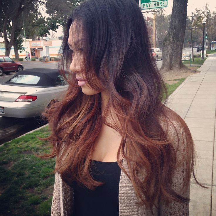 Natural Ombre Hair For Dark Hair