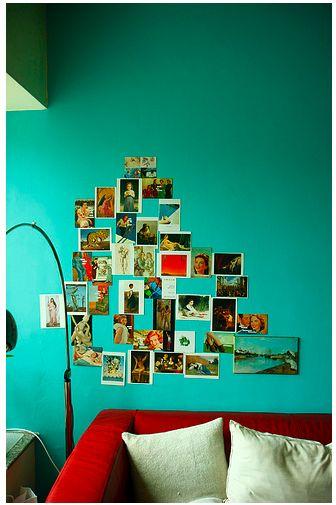 Dreamy Photo Art Displays Apartment Pinterest Turquoise Walls