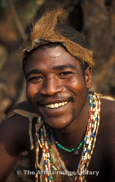 Africa | Hadza man, Lake Eyasi, Tanzania. The Hadza are a small tribe of hunter-gatherers | © Ariadne Van Zandbergen