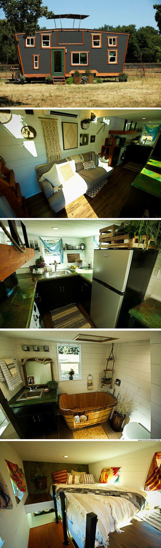 Schooner Tiny House (200 Sq Ft)