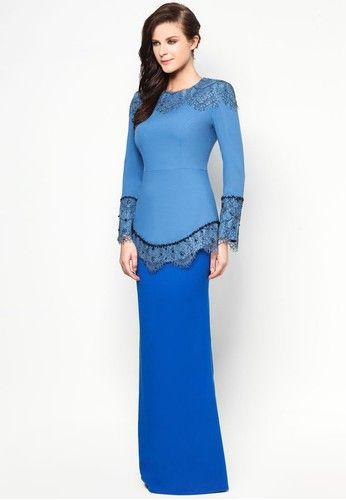 Chantilly Carina Baju Kurung - Jovian