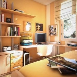 orange-teen-bedroom-ideas