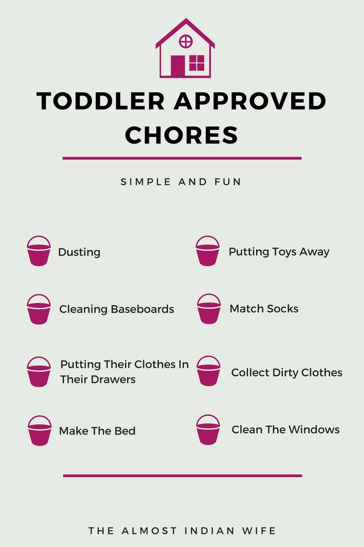 Are You Looking For Toddler Approved Chores? Look no more! These toddler approved chores are fun, simple, and help teach your toddler skills they need to get ready for school!