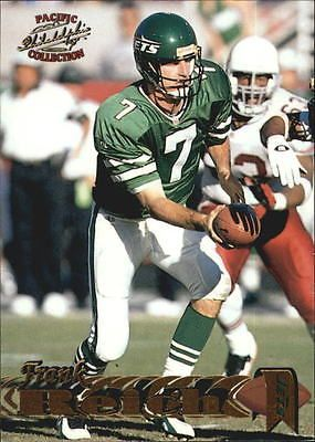 1997 Pacific Philadelphia Gold New York Jets Football Card #133 Frank Reich