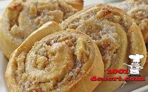 Рулет-печенье с грецкими орехами и безе » Простые десерты | на 1001 десерт