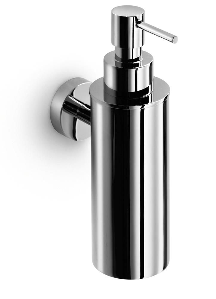 Baketo wall mount soap dispenser in polished chrome - Polished chrome bathroom accessories ...