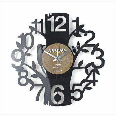 Tree Disc Clock Janya Design | Wayfair