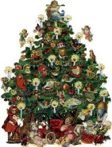 39 best Victorian Christmas Trees! images on Pinterest   Victorian ...