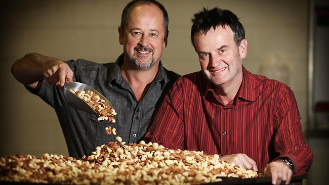 Meet Charlesworth Nuts joint chief executive officers