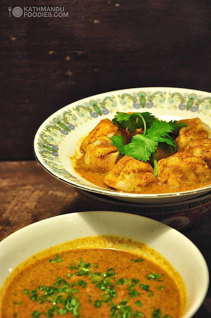 classic momo cha jhol recipe Momocha Nepali Nepalese tomato sauce