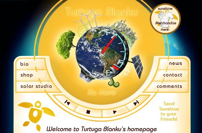 Turtuga Blanku Music - official webhome at www.TurtugaBlanku.com    Sunshine turned into music, literally...