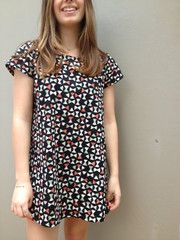 Gabby Dress pattern: Fabrics Online, Gabby Dresses, Sewing Tips, Fabrics Patterns, Tessuti Fabrics, Cotton Linens, Dresses Patterns, Sewing Patterns, Sewing Tessuti