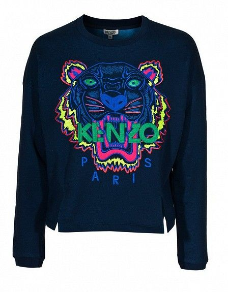 The Kenzo Tiger + loving this season's Kenzo sweaters x