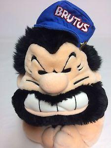 "Brutus Hand Puppet Winning Edge Designs Popeye Cartoon Big Muscles 14"" Plush | eBay"