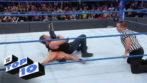 Dean Ambrose got his revenge on The Miz in the form of CLAIMING his WWE Intercontinental Championship!